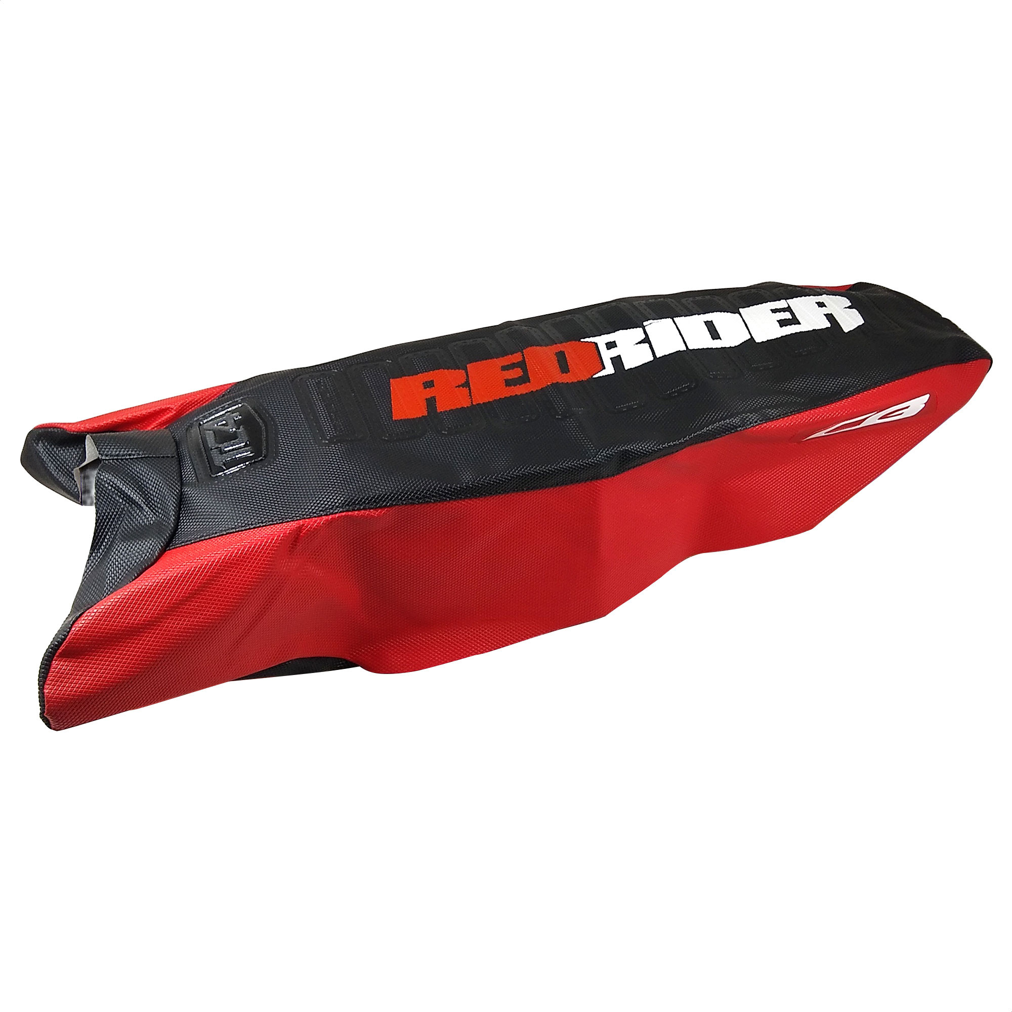 Funda Asiento Cbx Twister 250 Tc4 Negro Rojo Antideslizante