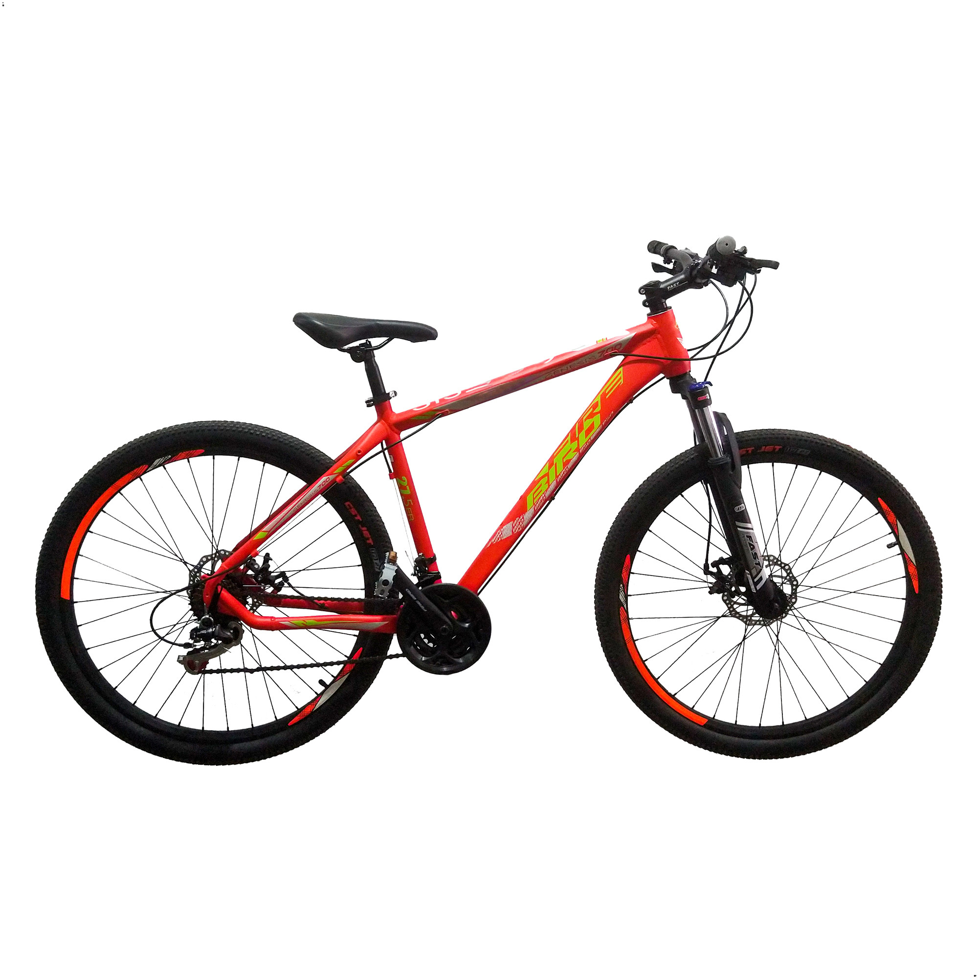 Bicicleta Mountain Bike Fire Bird Genesis By Raleigh 27.5 Aluminio Shimano