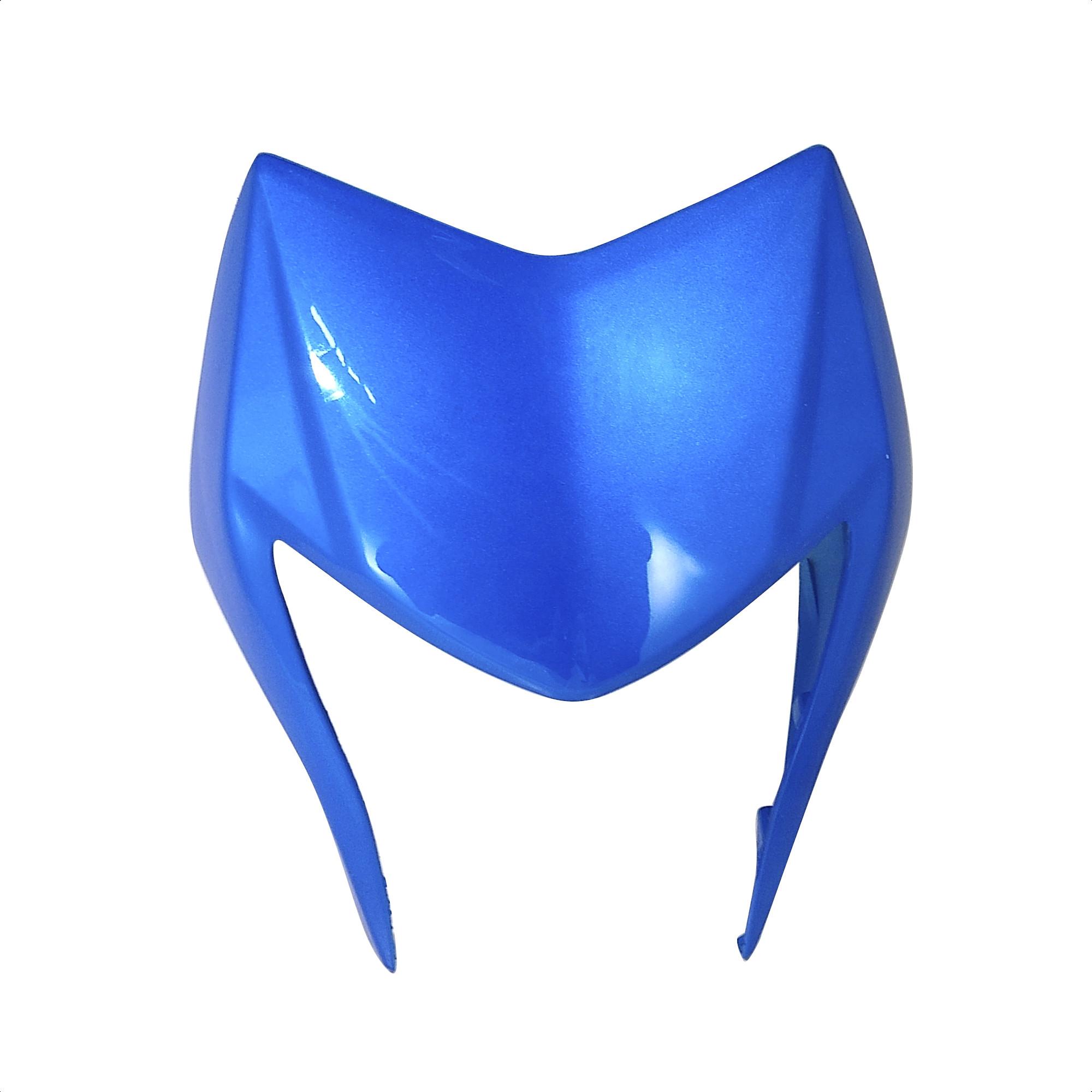 Cacha Mascara Cubre Optica Azul Zanella Zr 150 Lt Original