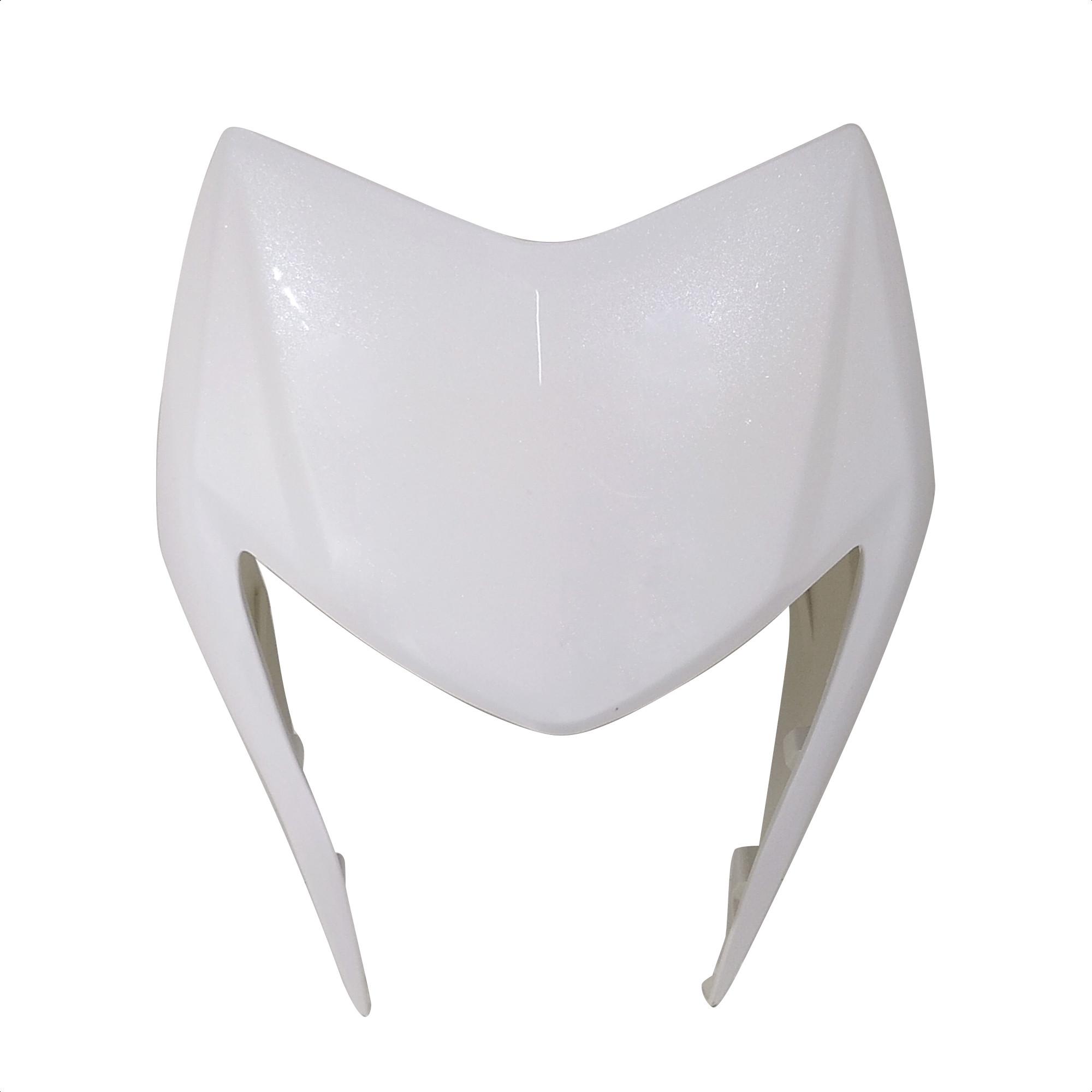 Cacha Mascara Cubre Optica Blanco Zanella Zr 150 Lt Original