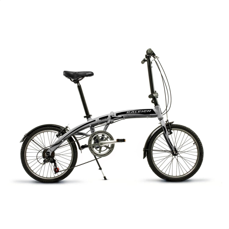 Bicicleta Plegable Raleigh Curve 6V Rodado 20 Aluminio