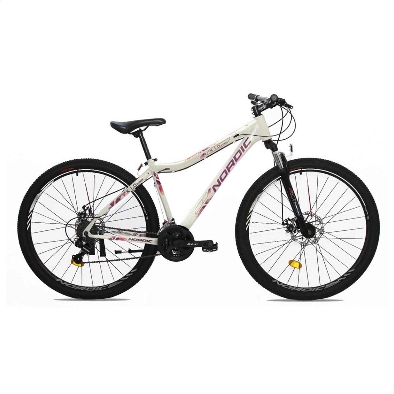 Bicicleta Mountain Bike Nordic X1.0 21V Mujer R29