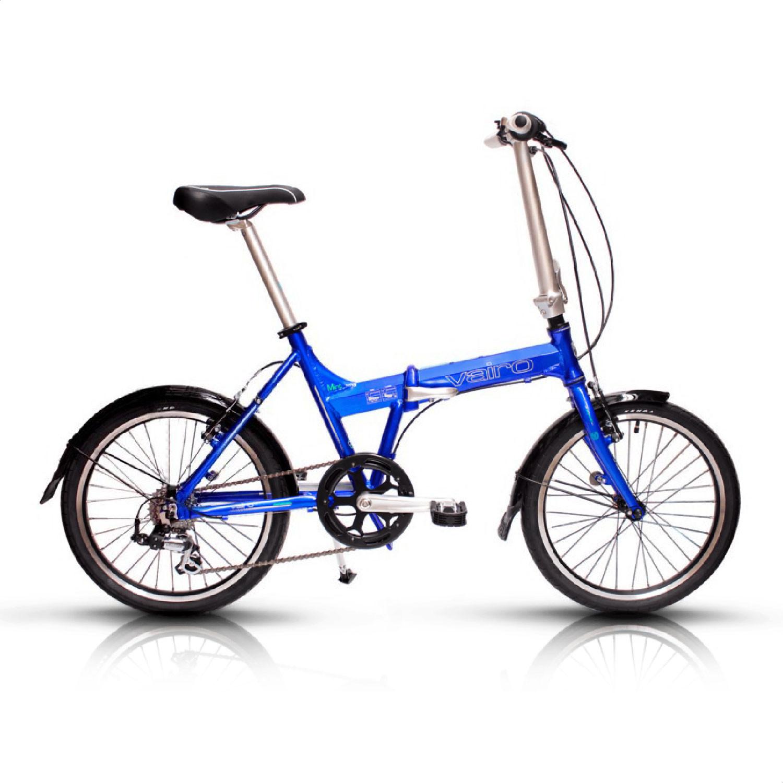 Bicicleta Urbana Plegable Vairo Mint Rodado 20 7V