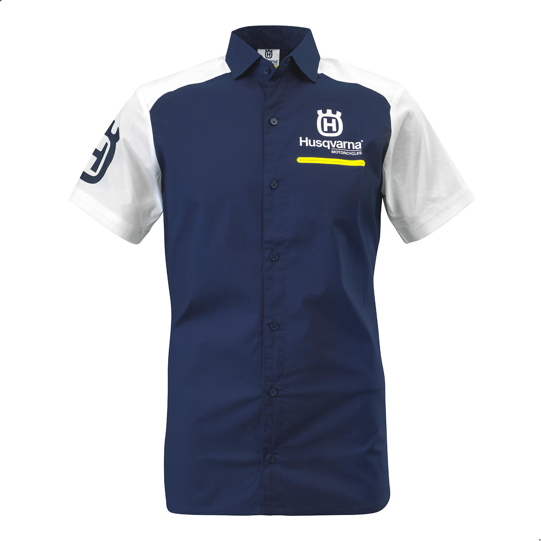 Remera Chomba Urbana Husqvarna Replica Team Shirt