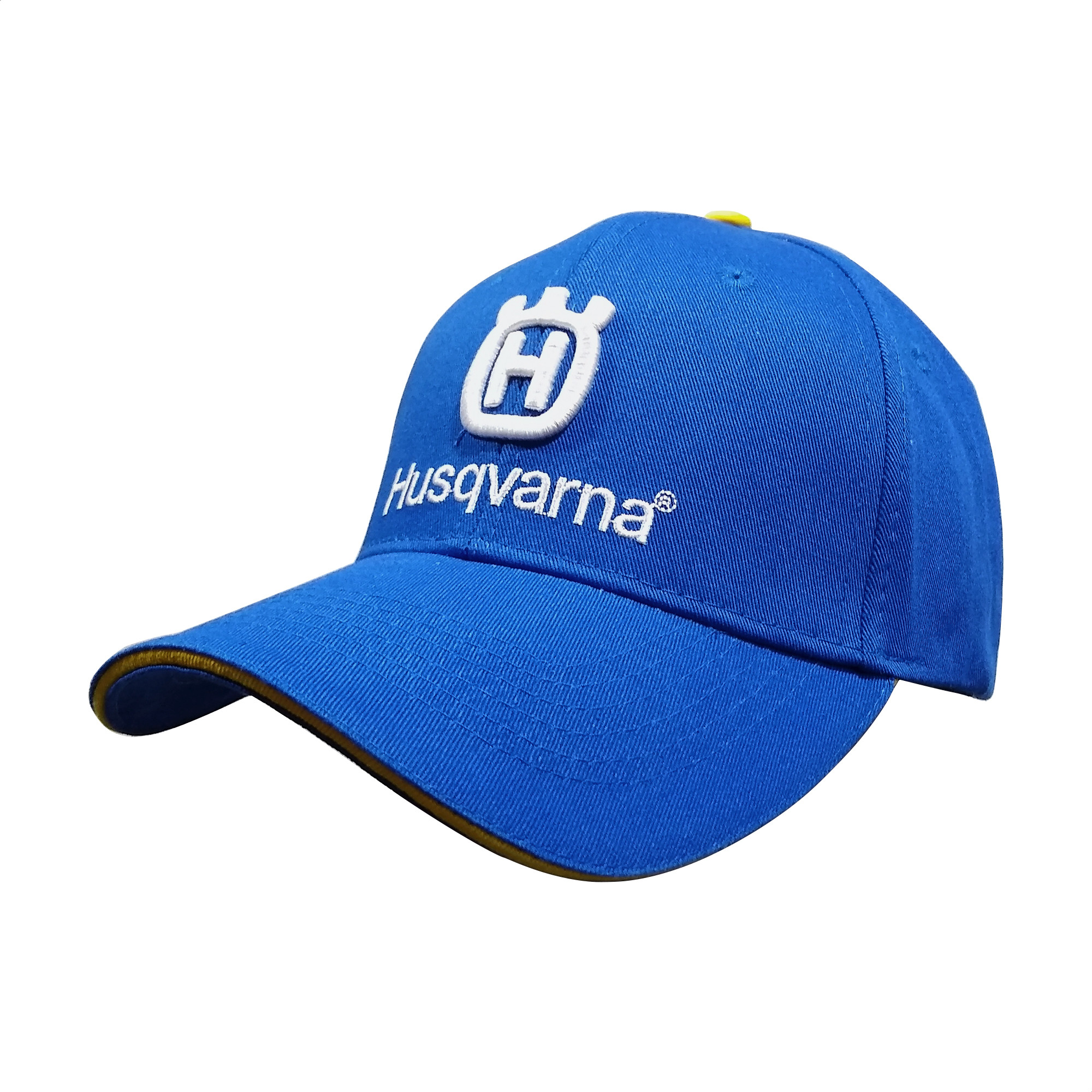 Gorra Husqvarna Azul Logo Blanco