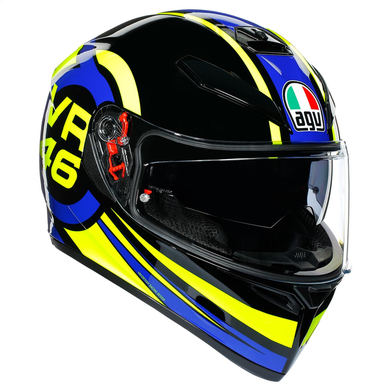 Casco Integral AGV K3 SV Top Ride 46 Valentino Rossi