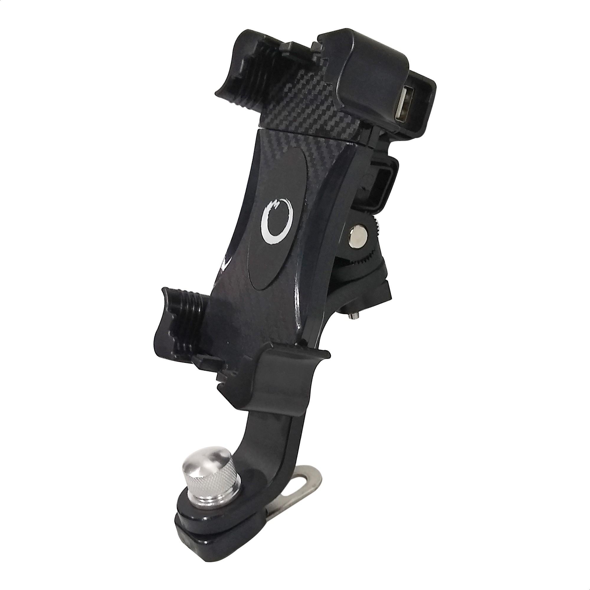 Soporte Celular / GPS Cargador USB Samurai Warrior YF8-1
