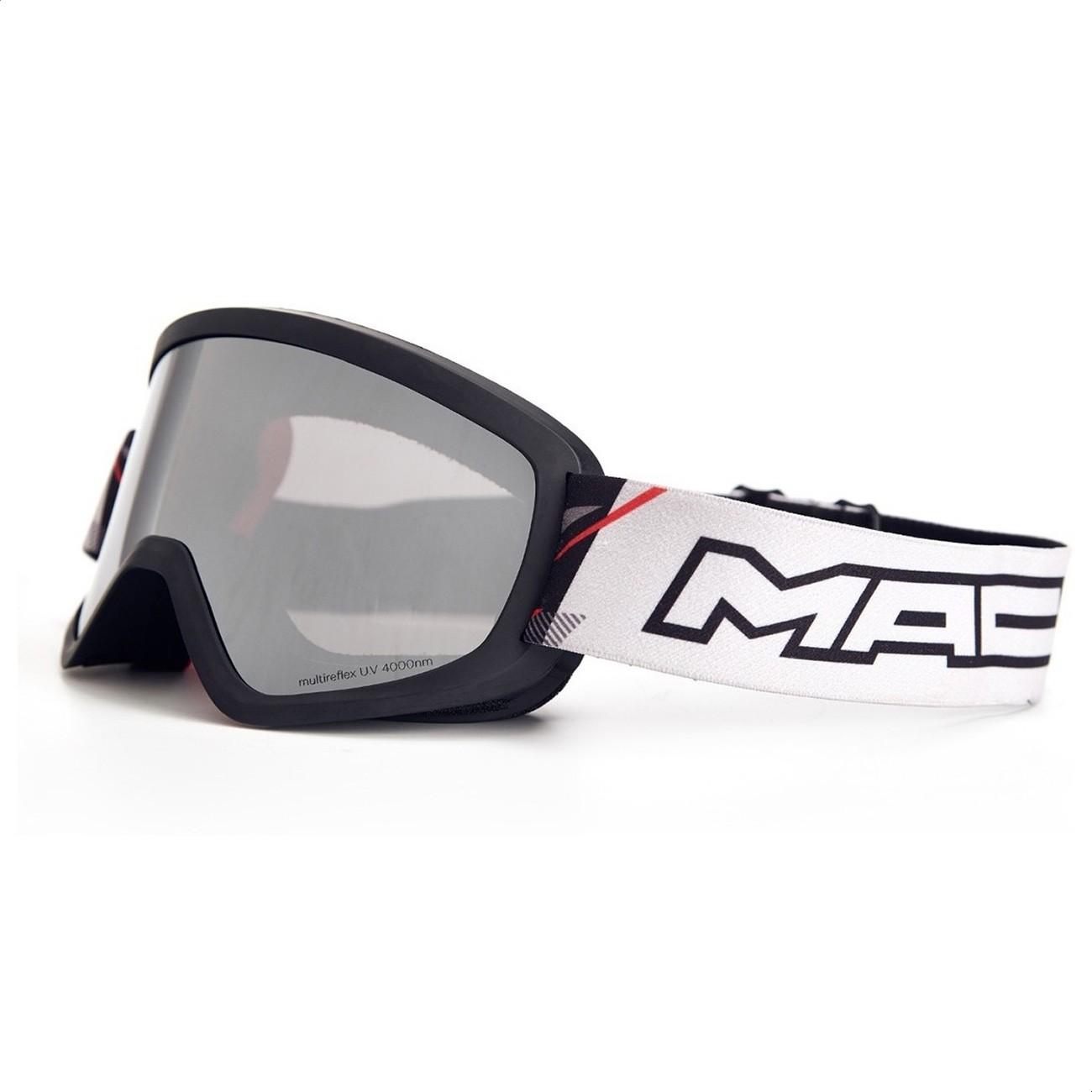 Antiparras Enduro Motocross MAC Prisma Negro Gris